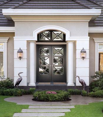 *Black Doors Not Guaranteed & B.C. Door - Residential prehung raised panel wood doors